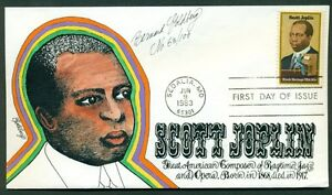 US-2044-Scott-Joplin-beautiful-signed-GOLDBERG-CACHET-each-one-numbered