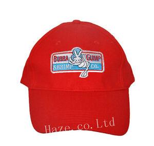 Forrest-Gump-Crevette-Base-ball-Rouge-Chapeau-Casquette