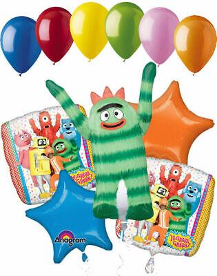 """4 x 18/"""" Yo Gabba Gabba Foil Mylar Balloon Party Supply Decoration"""