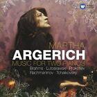 Music for Two Pianos: Brahms, Lutoslawski, Prokofiev, Rachmaninov, Tchaikovsky (CD, Jun-2008, 2 Discs, EMI Classics)