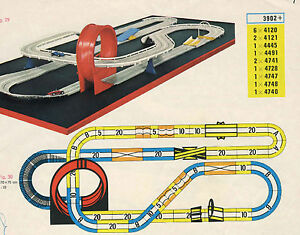 FALLER-AMS-schienenmaterial-para-tren-completo-con-funcion-de-Bucle-Saltos