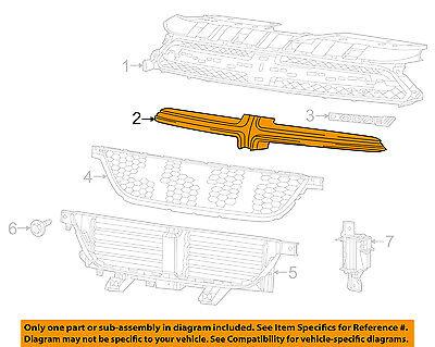Dodge CHRYSLER OEM 13-14 Dart-Bumper Trim-Molding 68081405AB