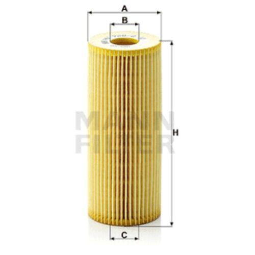 Mann Oil Filter Element Metal Free For Audi A4 1.9 TDI quattro 1.9 TDI 2.0 TDI
