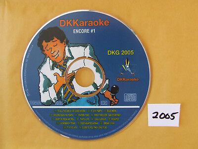 Karaoke Cdgs, Dvds & Media Inventive Dk Karaoke Dkg 2005 Millennium Encore #1 Excellent Condition
