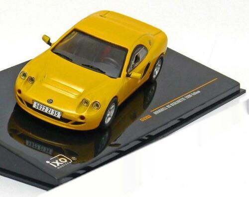 1:43 Ixo Hommell RS Berlinette 1999 yellow