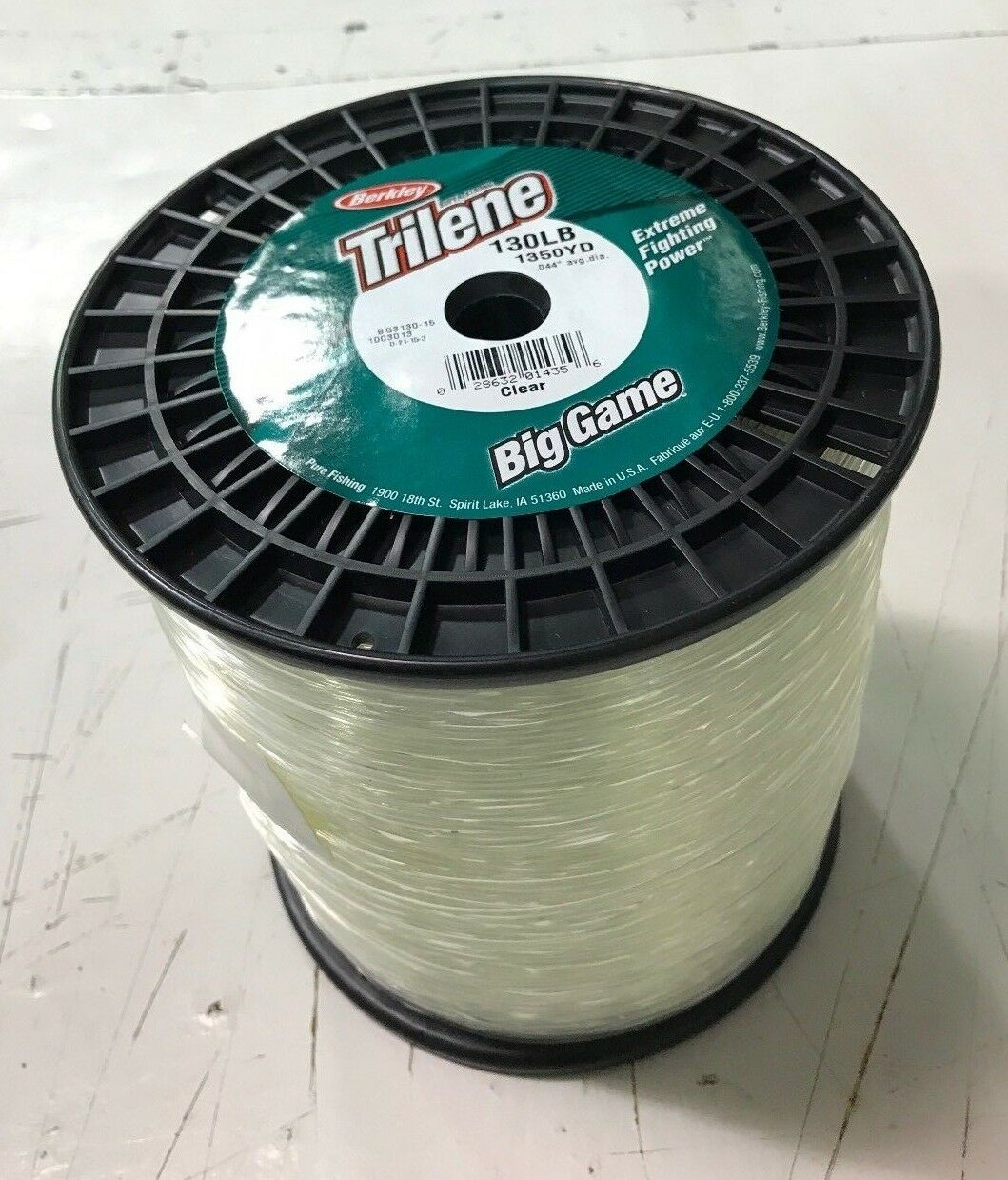 Trilene Big Game 130lb test 3lb Spool (BG3130-15)