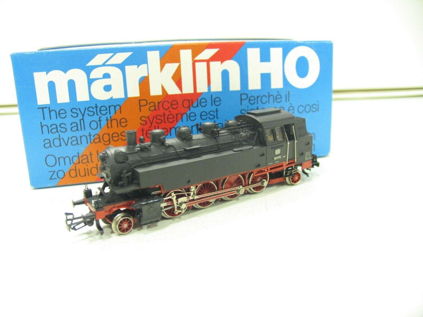 Märklin 3096 máquina de vapor br 86 de la DB télex js249
