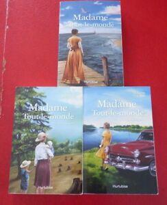 Lot-of-3-Soft-Cover-French-Books-Juliette-Thibault-Madame-Tout-le-Monde
