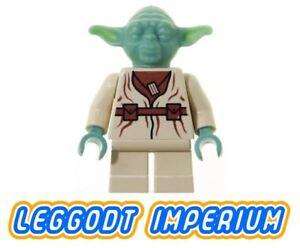 LEGO-Minifigure-Star-Wars-Yoda-sw051-minifig-FREE-POST