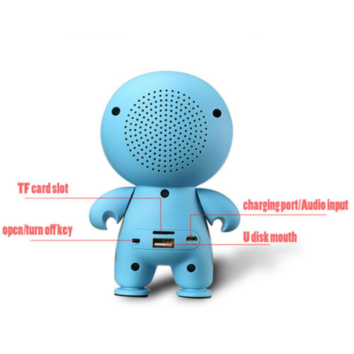 Big Hero 6 Super Cute Cartoon A9 Mini Portable Multimedia Bluetooth Speaker