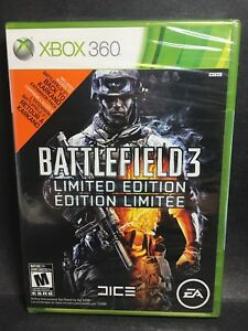Factory Sealed Battlefield 3 Limited Edition NTSC U/C Free Shipping