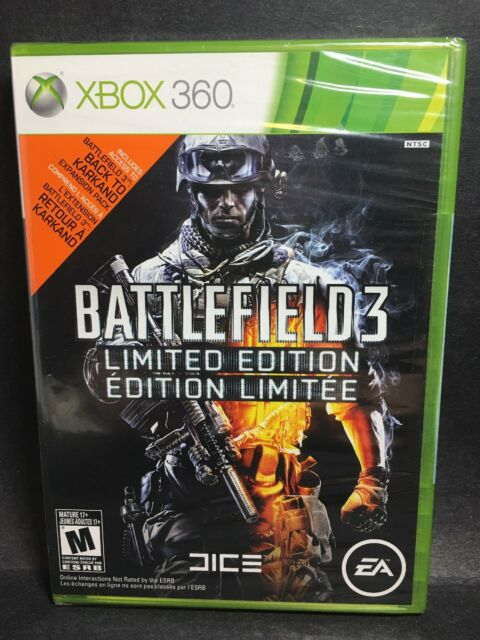 Factory Sealed Battlefield 3 Limited Edition NTSC U/C Free Shipping