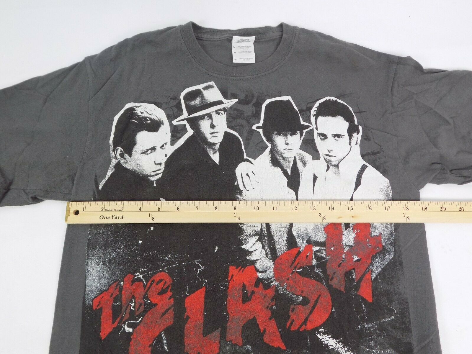 The Clash North American Campaign 1982 T Shirt Me… - image 7