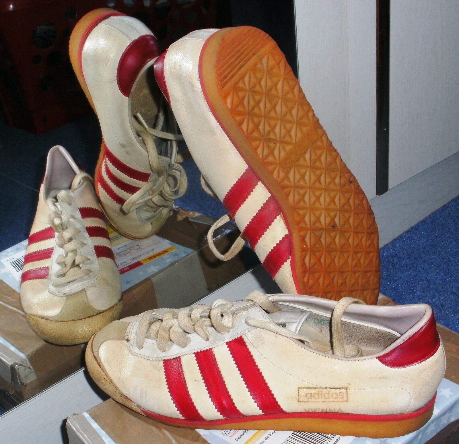Casual salvaje Barato y cómodo Seltene Adidas Vienna Sneaker Vintage 70ger Jahre, Gr. 39
