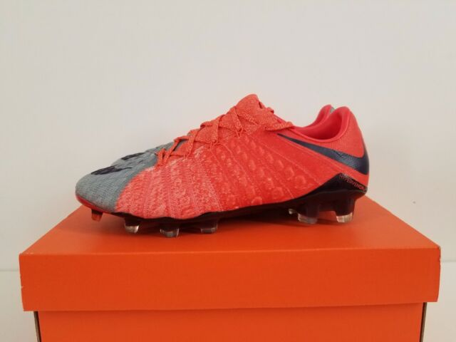 WMNS HYPERVENOM PHANTOM III FG WOLF GREY PURPLE 881543 058 NO LID ON BOX b5a2b34c8179
