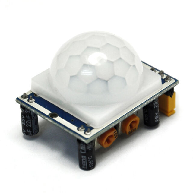 Adjust IR Pyroelectric Infrared IR PIR Motion Sensor Detector HC-SR501 arduino