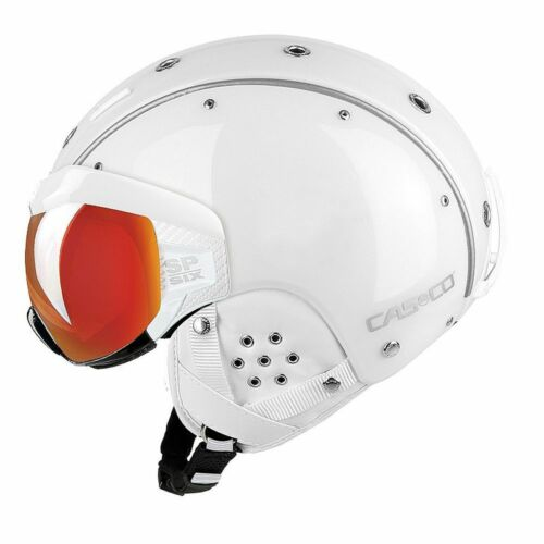 Skihelm Casco SP-6 Visier weiß #2567L 58-62 cm