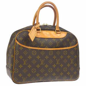 LOUIS-VUITTON-DEAUVILLE-BUSINESS-HAND-BAG-PURSE-MONOGRAM-M47270-SD0998-A45904
