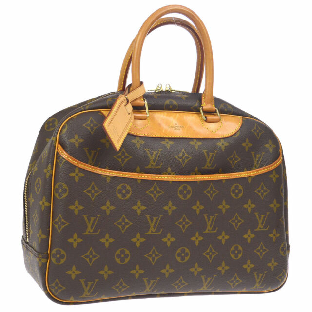 LOUIS VUITTON DEAUVILLE BUSINESS HAND BAG PURSE MONOGRAM M47270 SD0998 A46696e