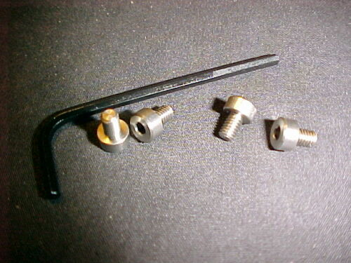 Ruger Mark Mk I II III IV Factory lisse Hex grip vis en acier inoxydable avec clé hexagonale NEUF