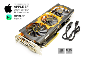 Details about  Sapphire R9 280x 3GB GPU For Apple Mac Pro w/EFI, Boot  screen, METAL and 4K