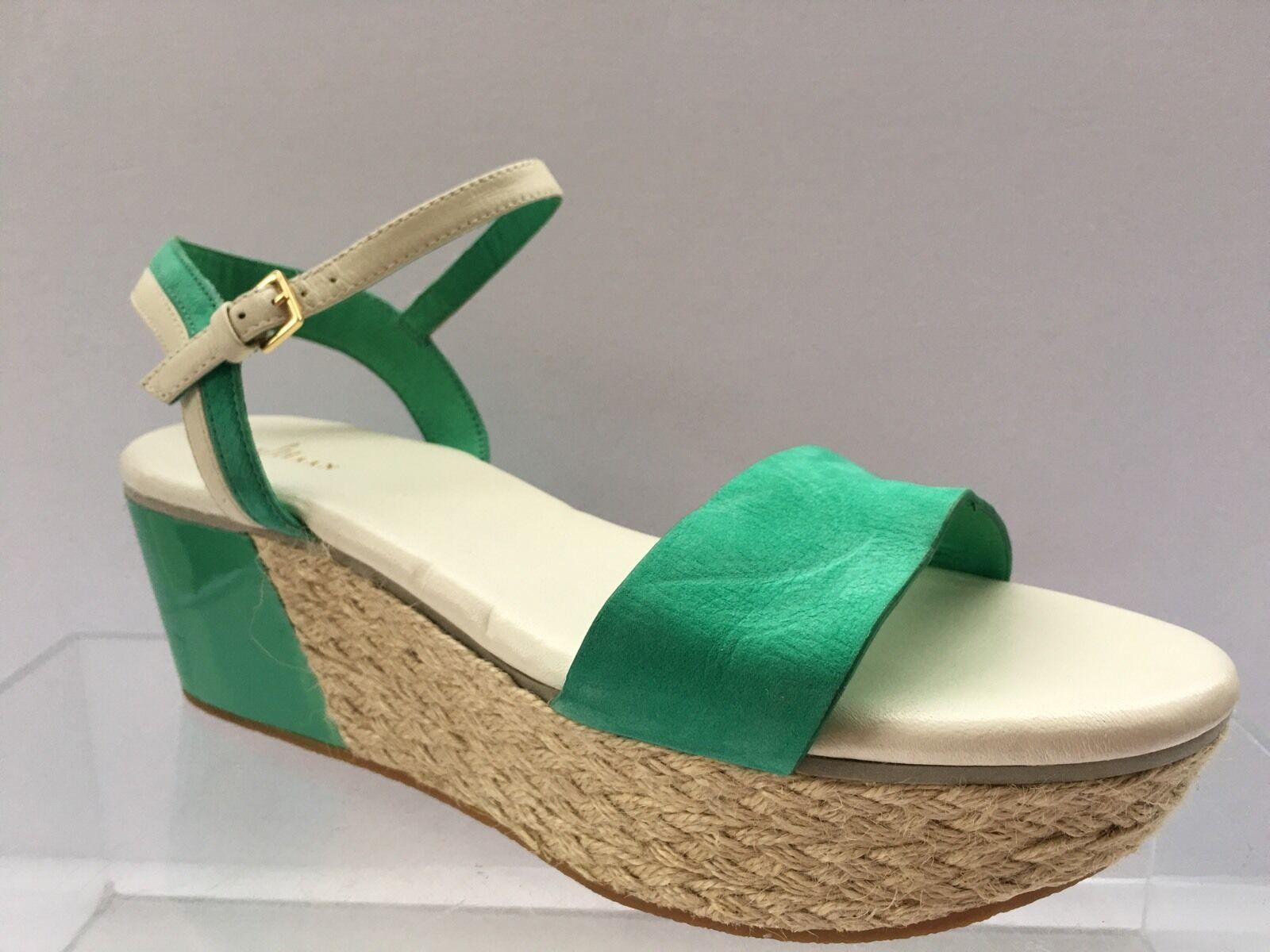 Para mujer Cole Haan verde Thumb Nubuck Arden SANDALIA de Cuña Tamaño 9.5 B precio minorista sugerido por el fabricante  198