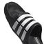 Adidas-Duramo-Mens-Slides-Flip-Flops-Pool-Beach-Slippers-Black-Navy-Blue-Stripes miniatura 7