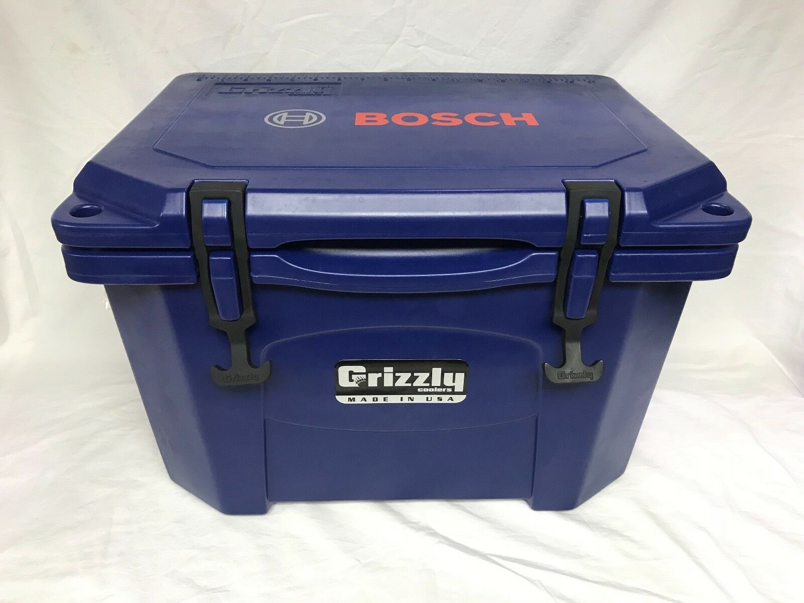 Grizzly Bosch Cooler - 20 Qt Heavy Duty Ice Retention Blau - Camping Job Site