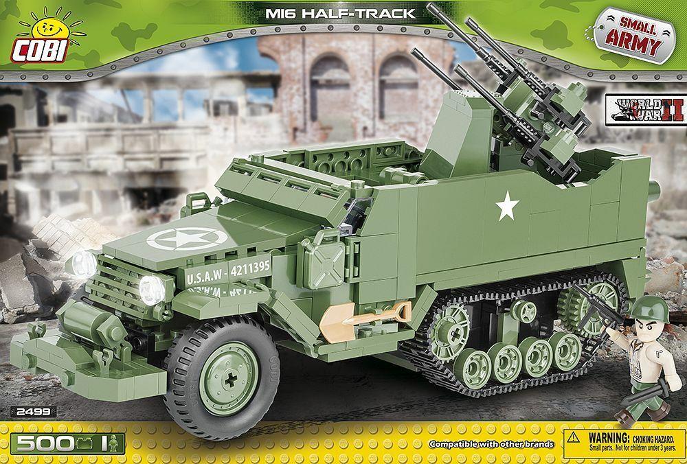COBI 2499 - Army - M16 Half Track - - - 500 Teile a53d31