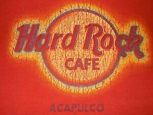 22c91d0ba8c Image is loading Hard-Rock-Cafe-Acapulco-T-Shirt-Mexico-Adult-