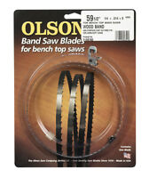 Olson 59.5 In. L X 0.25 In. W Band Saw Blade