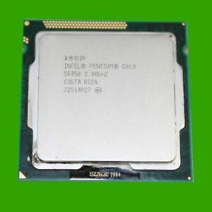 Intel Pentium G860 3,0 GHz Sockel LGA 1155 CPU Dual Core Prozessor G 860