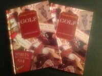 Golf Address Book & Any Year Diary - Nostalgia Collection -