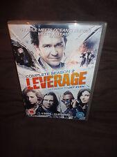 Leverage - Season 2 - Complete (DVD, 2011, 4-Disc Set)