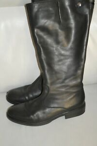 ladies black leather boots size 7 GABOR
