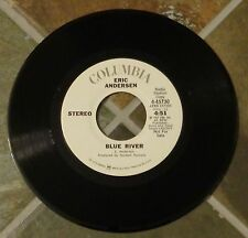 """45 RPM Rock By Eric Anderson, """"Blue River"""" on Columbia Promo"""