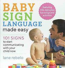 Baby Sign Language Made Easy (2019, Paperback)