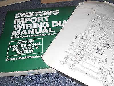 1984 mazda b2000 b2200 pickup trucks wiring diagrams schematics sheets set    ebay  ebay