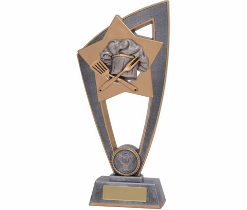 Cooking trophy Award in 3 Sizes with FREE Engraving up to 30 Letters