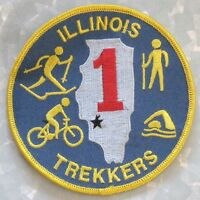 Illinois Trekkers Patch - Hiking, Cross-country Skiing, Cycling, Swimming