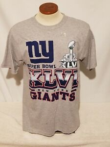 New York Giants Reebok Super Bowl XLV NFL Football Champions T-shirt