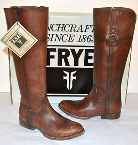 New-478-Frye-Jamie-Ring-Tall-Whiskey-Brown-Distressed-Leather-Riding-Boot