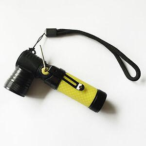 Mini armée style poche led torche super bright lampe de poche rechargeable/jaune  </span>