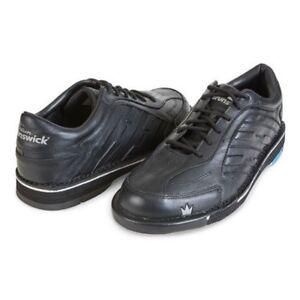 Mens Brunswick Black//Green Punisher Bowling Shoes Soles /& Heels Size 8-14 RH