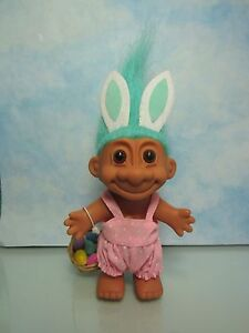 "5/"" Russ Troll Doll BUNNY EASTER WACKY WABBIT RABBIT NEW IN ORIGINAL BAG"