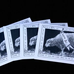 Download Lamb of God Greeting Cards Pack of 10 All Occasion Easter ...