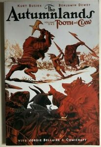 THE-AUTUMNLANDS-volume-one-Tooth-amp-Claw-2015-Image-Comics-TPB-FINE-1st