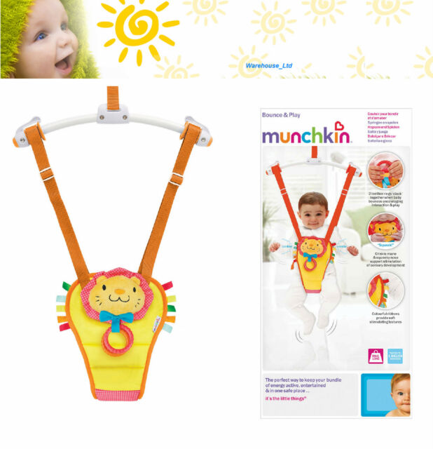 8b6d393b5 Munchkin Bounce and Play Baby Door Bouncer for sale online