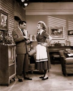 Lucille-Ball-Desi-Arnaz-034-I-Love-Lucy-034-5x7-1950-039-s-Classic-Television