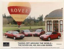 Rover Range 200 400 600 800 original 1994 colour Press Photo No. RGS/0494/442